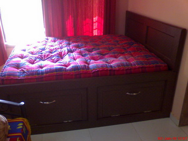 King Size Storage Bed Frame. Get the steps