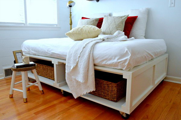 Wheelie Bed Frame. Get the tutorial