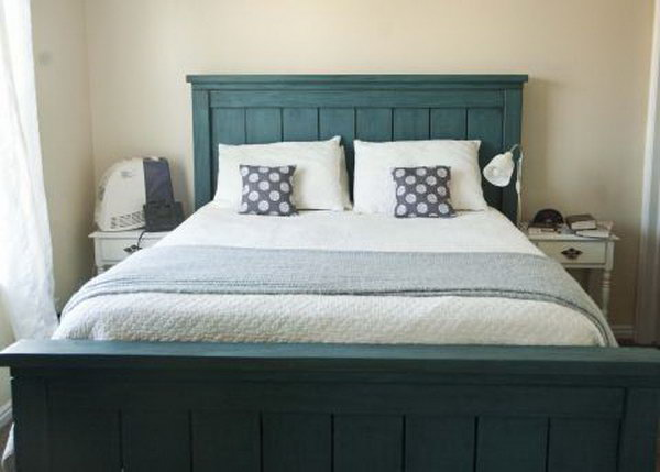 Do It Yourself Home Design: 30 Budget Friendly DIY Bed Frame Projects & Tutorials
