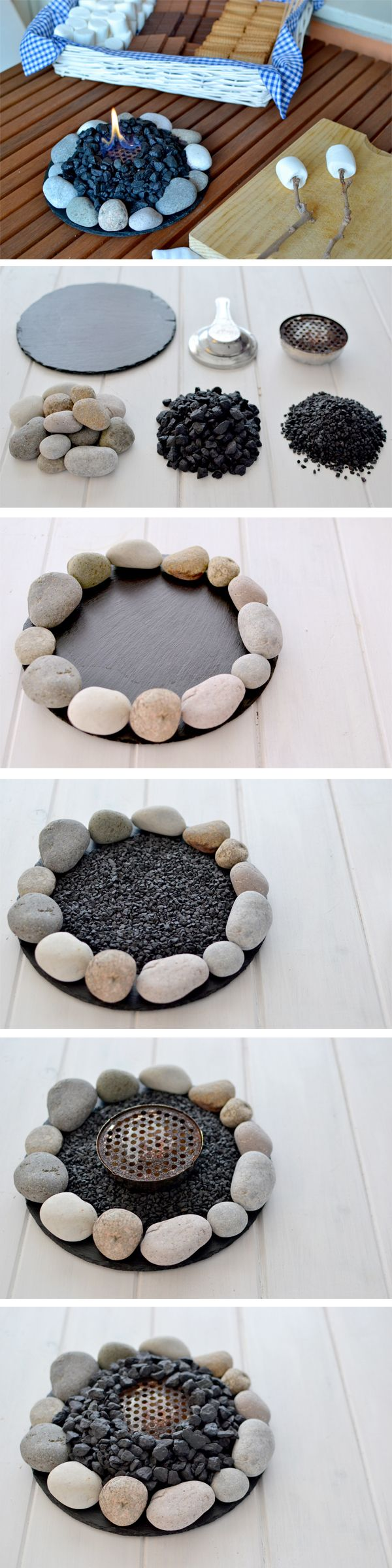 Make a Campfire at Home. See the tutorial