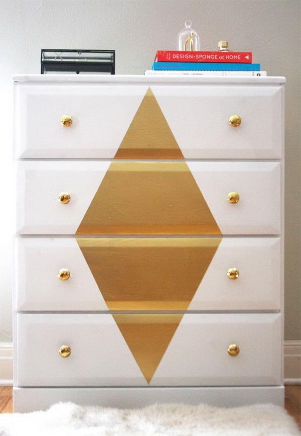 Gold Diamond Dresser. See the tutorial