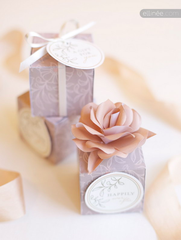 Lavender Rose Gift Box. Get the directions
