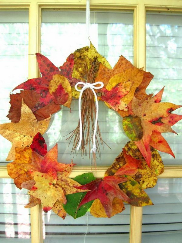 DIY Fall Wreath.