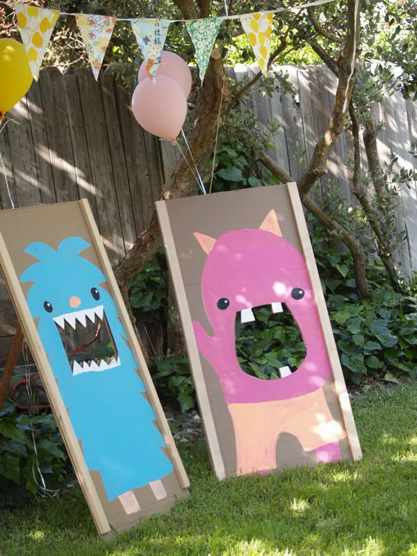 Monster Bean Bag Toss. See more