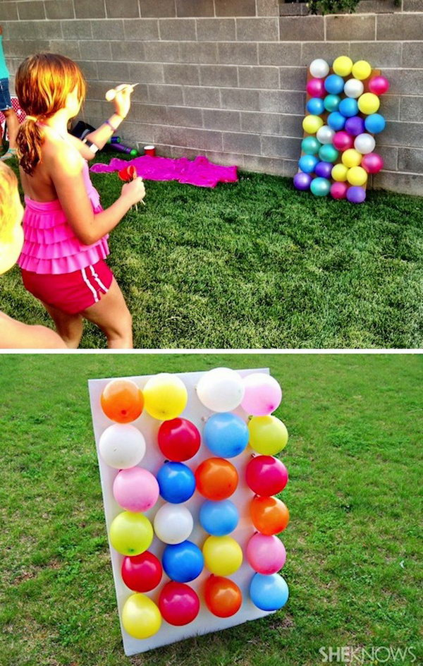 Balloon Dart Board Game. Get the detaisl