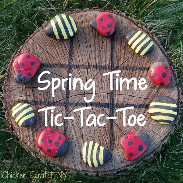 Outdoor Tic tac toe Activity. See the full directions of how to play this game