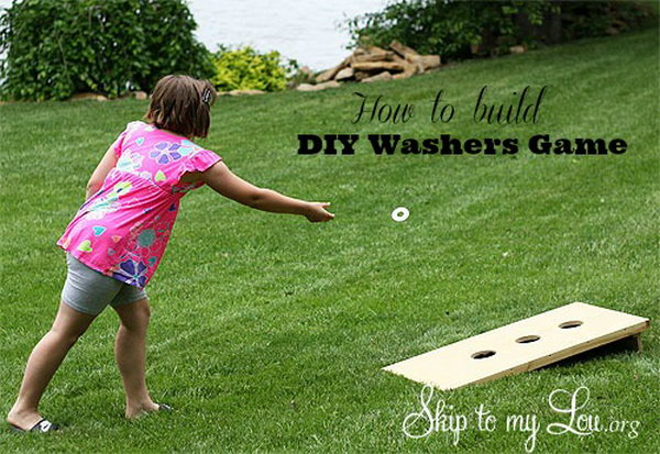 DIY Washers Game. See the details
