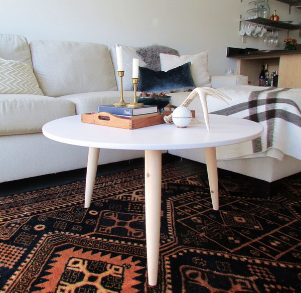 Danish Mid century Modern Inspired Coffee Table. Get the full instructions