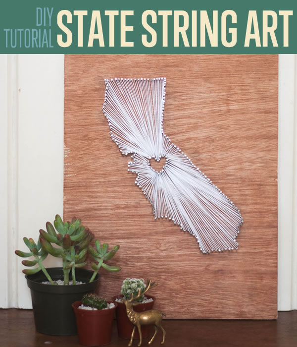 25 Diy String Art Ideas Amp Tutorials For Your Home Decor