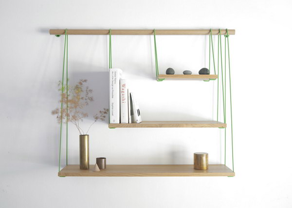 DIY Bridge Shelves. Get the steps
