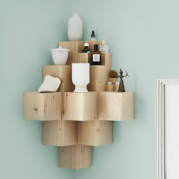 Solid Wood Shelves. Get the steps