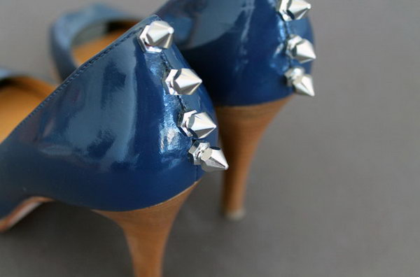 DIY Studded Heels. Get the steps
