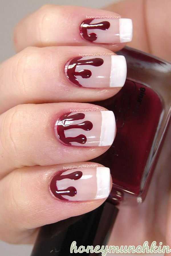 60 Fashionable French Nail Art Designs And Tutorials ...