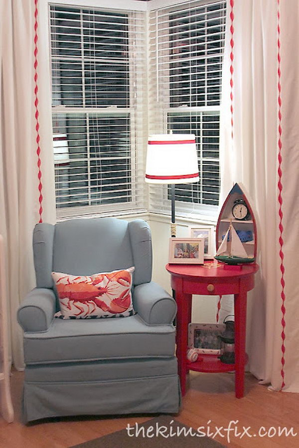 Vertical Accent Stripes Curtains. Get the directions