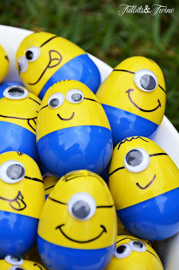 Plastic Egg Minions.
