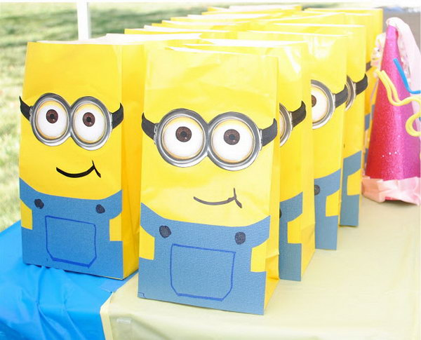 Minion Goodie Bags.