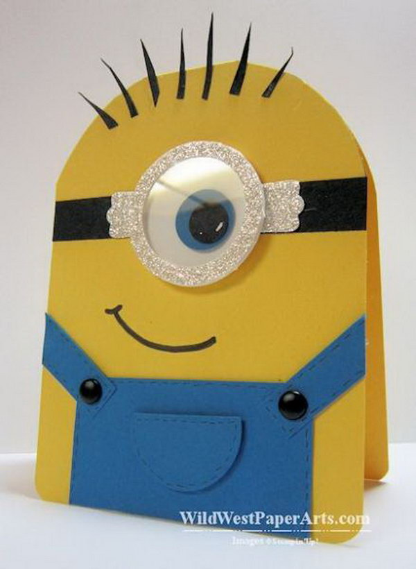 Minion Birthday Card.