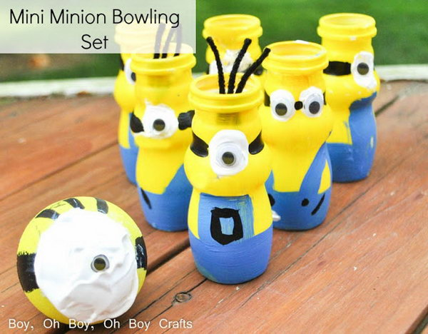 Mini Minion Bowling Set. See more details