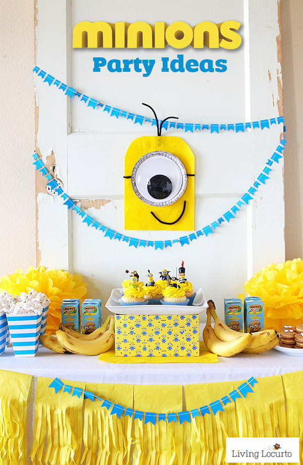 DIY Minion Wall Decoration.