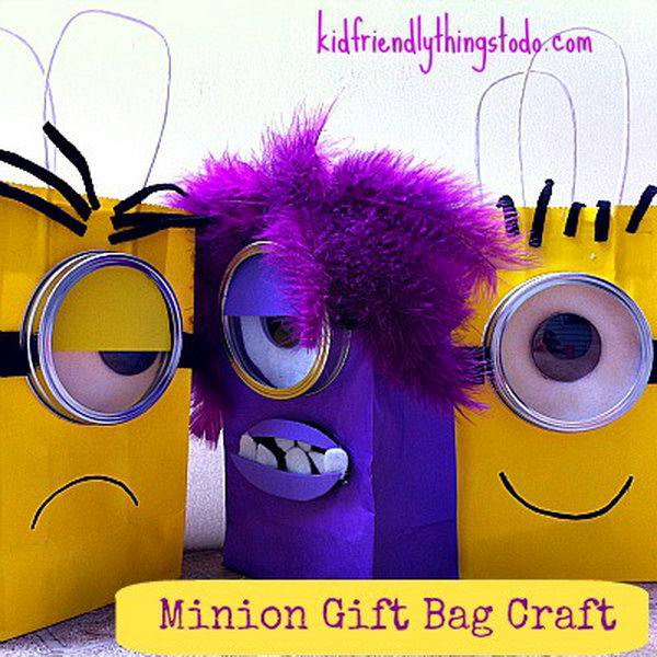 Minion Gift Bag. See how