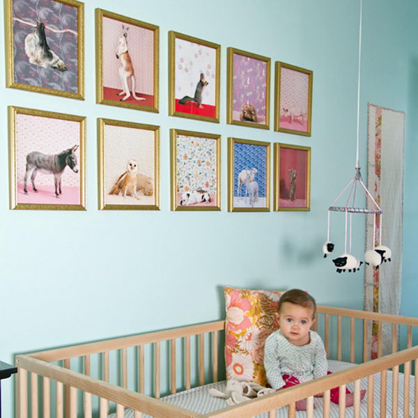 Blue Nursery Design.