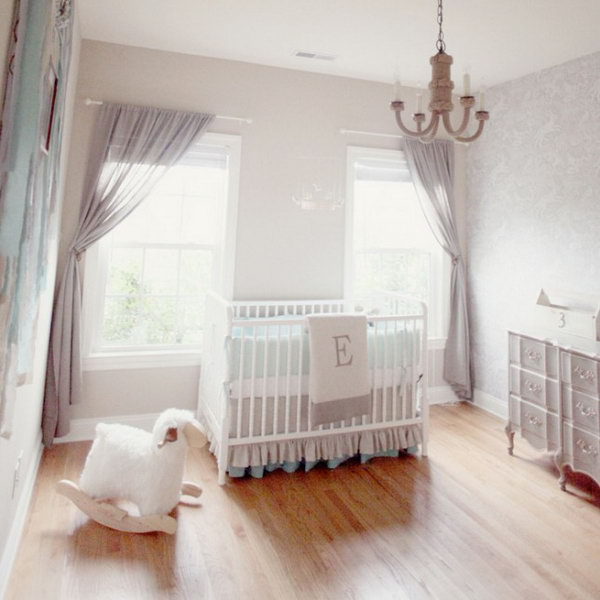 Neutral Nursery Design.