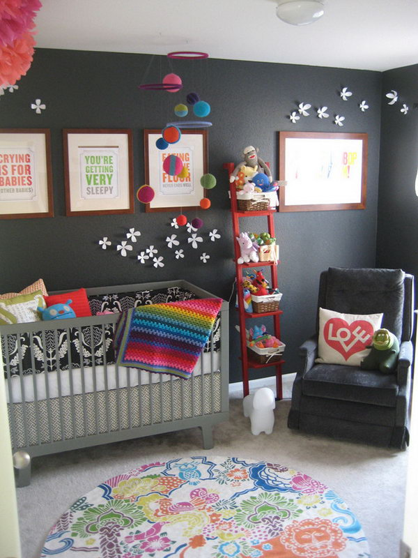 Rainbow Connection in the Nursery.