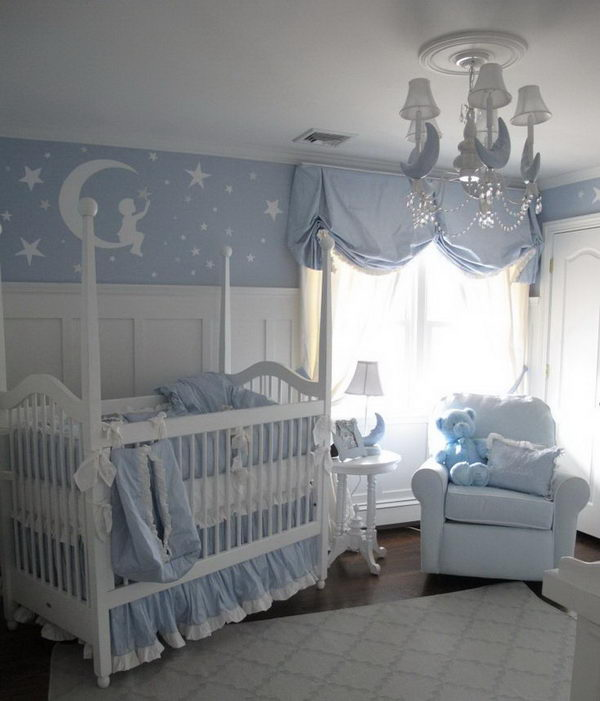 Moon and Stars Nursery.