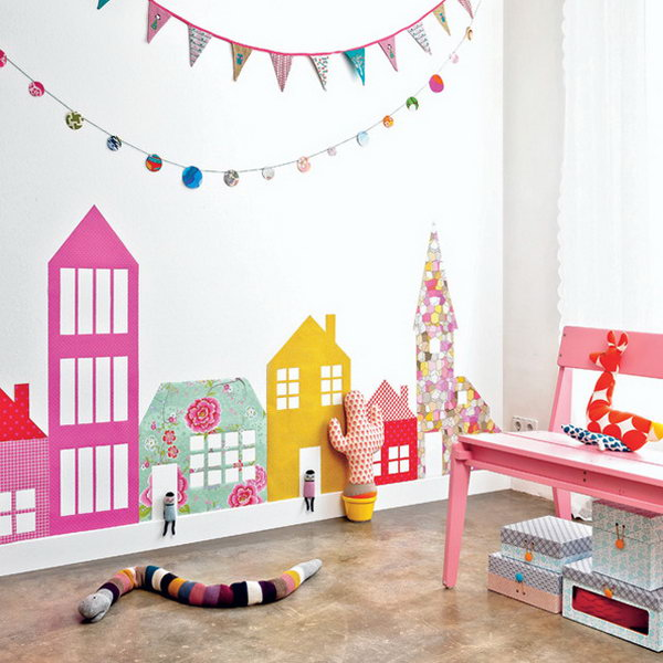 Whimsical Wall Decals for Nursery.