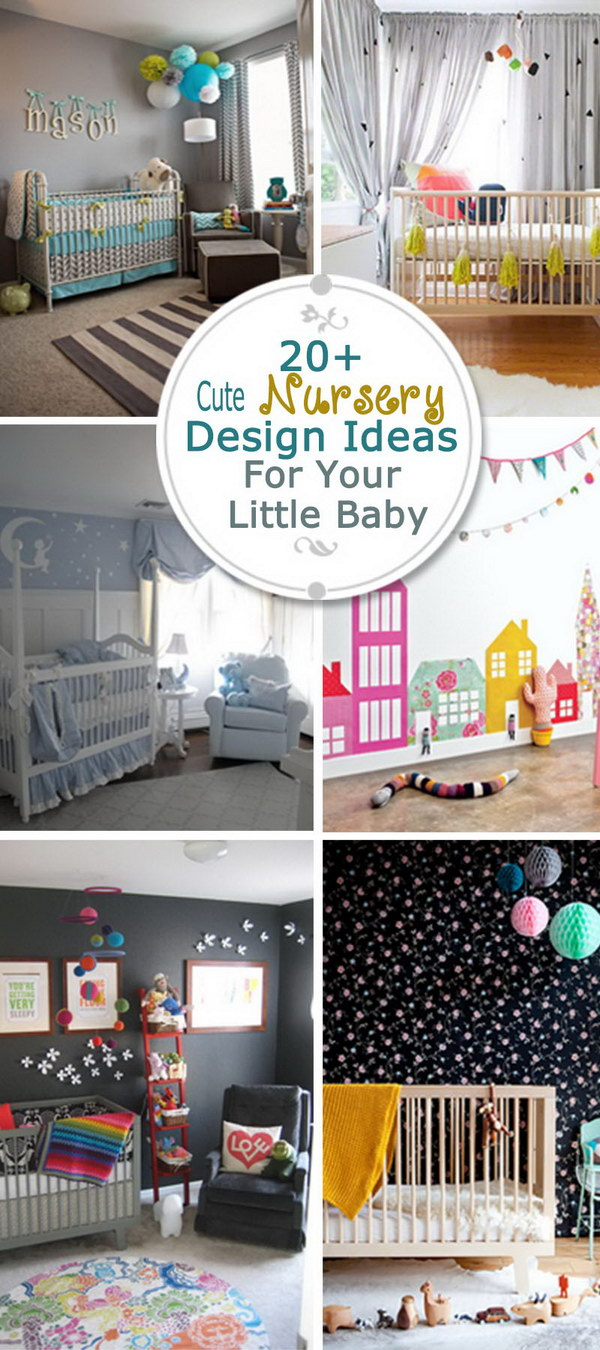 Cute Nursery Design Ideas For Your Little Baby!