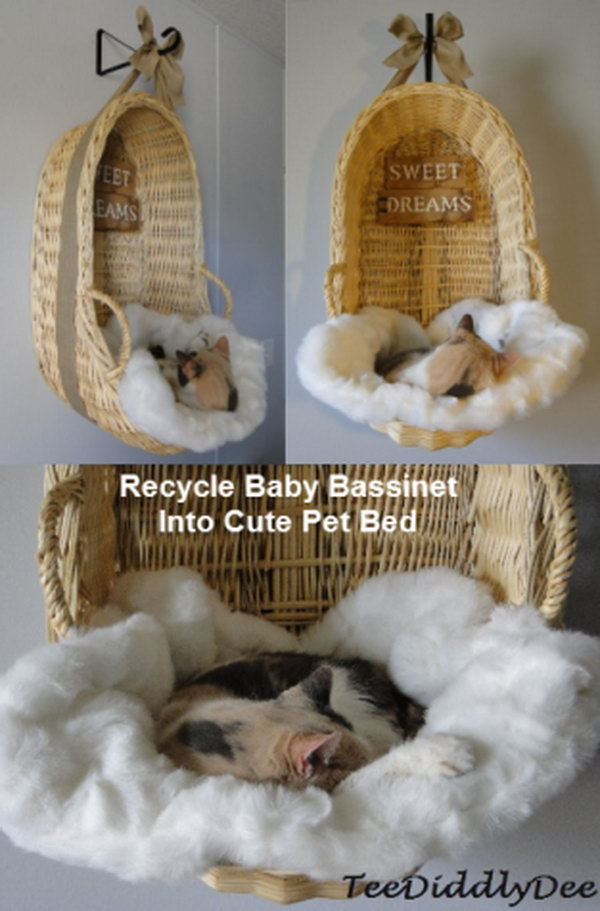 25 Creative Diy Pet Bed Tutorials And Ideas Noted List