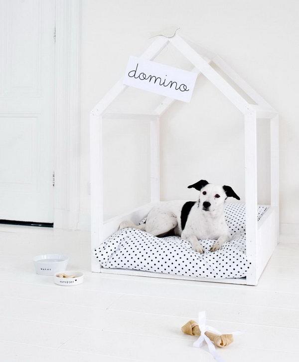 Minimalist Dog Bed.