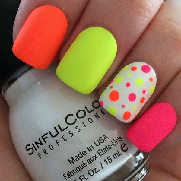 Index Of Wp Contentuploads201508polka Dots Nail Art Designs