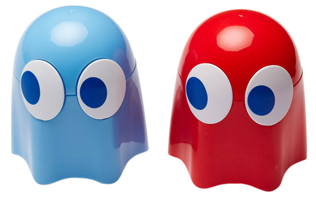 Pacman Blinky Shakers ($18).