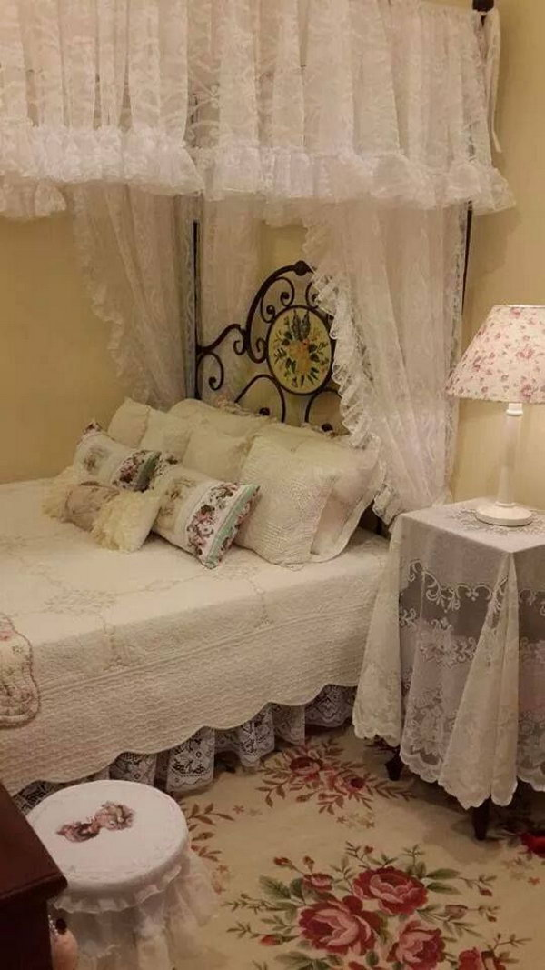 Fairy Tale Like Shabby Chic Bedroom.