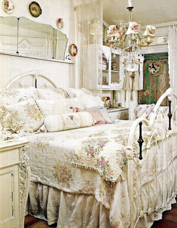 30 Shabby Chic Bedroom Ideas Decor And Furniture For