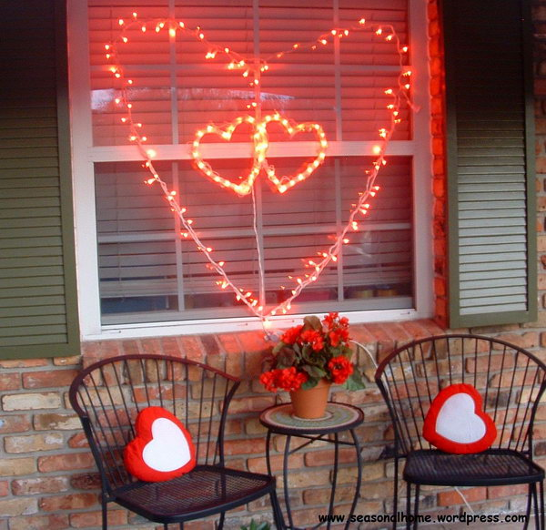String Lights for Valentine's Day Decoration.