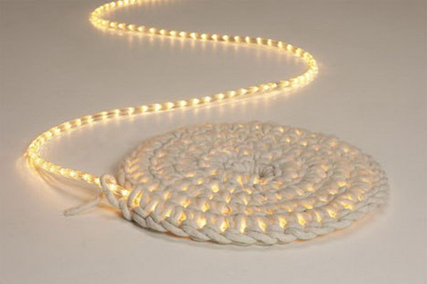 DIY LED Carpet.
