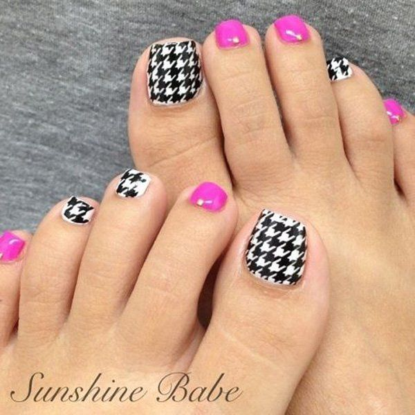 Pretty Nail Art Designs: 60 Cute & Pretty Toe Nail Art Designs