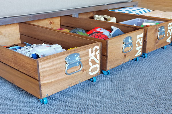 Creative under bed storage ideas for bedroom noted list - Under the bed storage ideas ...