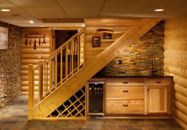 Under Stairs Bar for the Basement.