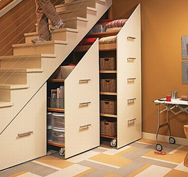 Staircase Ideas Creative Ways To Add Style: Creative Under The Stair Storage Ideas