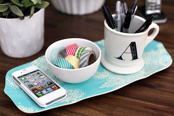 Desktop BowlUsed as the Washi Tape Storage. See more details