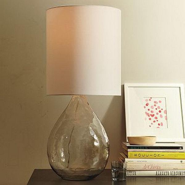 Homemade West Elm inspired Lamp.