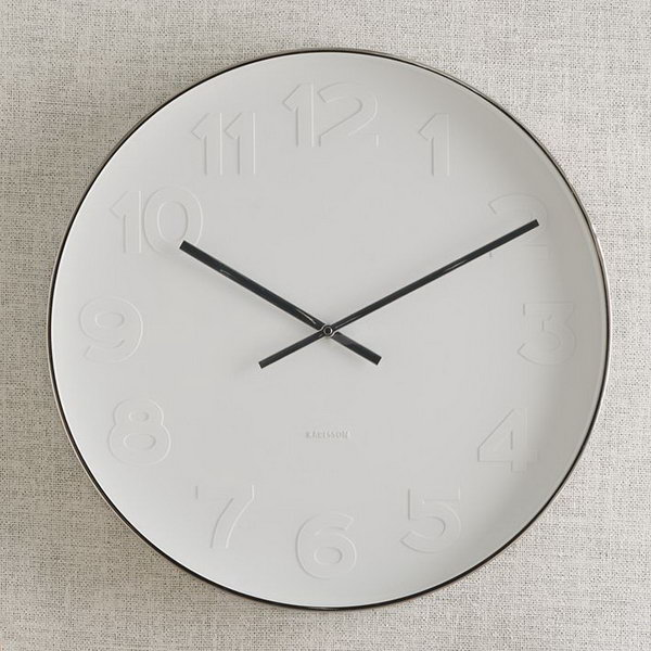 West Elm Clock Knock Off.