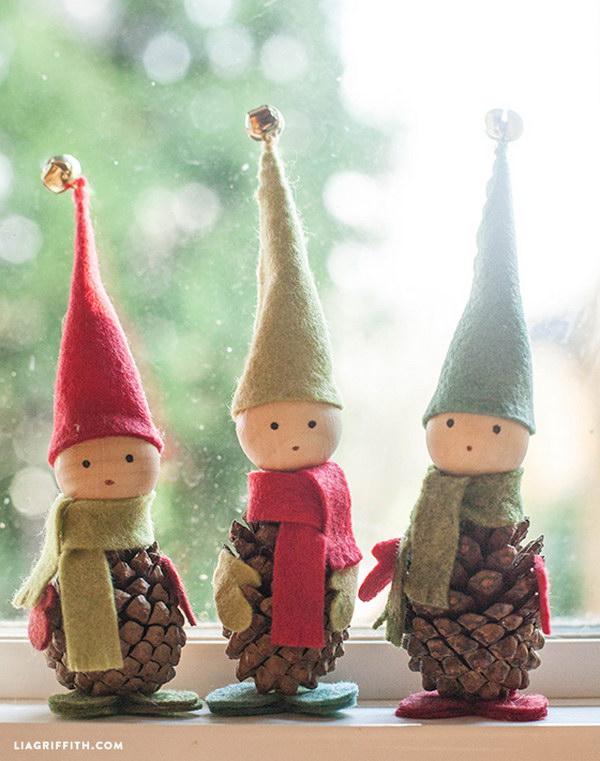 12 pine cone crafts