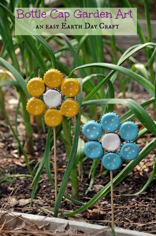 8 bottle cap crafts
