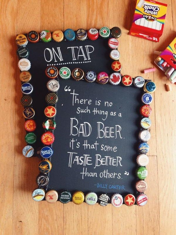 Creative bottle cap crafts noted list for How to make a table out of bottle caps