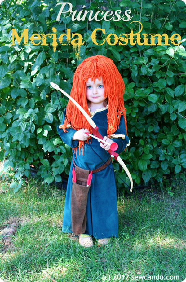 Princess Merida Costume Tutorial.