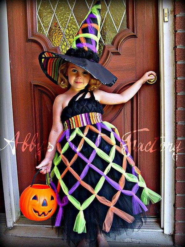 Cute witch Tutu Costume.